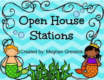 Editable Open House Stations!