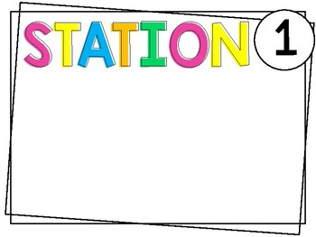 Editable Open House Stations | Brights