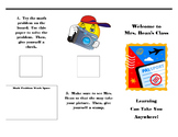 Editable Open House Student Activity