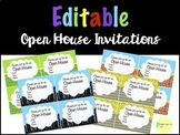 Editable Welcome Back to School Night/Open House Superhero