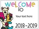 Editable Open House Welcome Signs