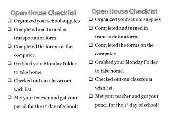 Editable Open House/Meet the Teacher Signs FREEBIE
