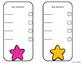 Editable Organization Checklists: Colorful Stars