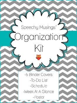 Editable Organization Kit Freebie: To-Do List, Schedule, Binder Covers, & More