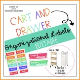 Editable Labels for IKEA Cart and Seville Drawers