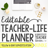 Organizer AND Substitute Binder Bundle for Upper Grades: Y