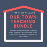 Editable Our Town Unit Bundle with Answer Keys Included