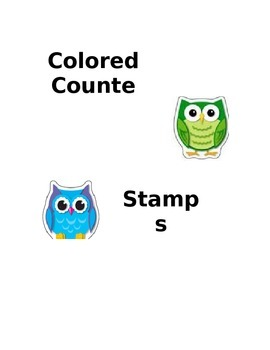 Editable Owl Labels