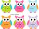 Editable: Owl Nametags