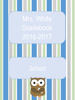 Editable Owl Theme Gradebook