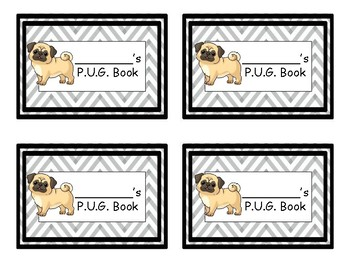 P.U.G. Book Labels