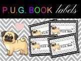 P.U.G. Book Labels