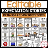 Editable PBIS Expectation Social Stories