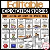 Editable PBIS Expectation Stories