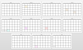 Editable Pacing Calendar 2018-19