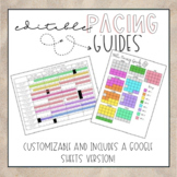 Editable Pacing Guides