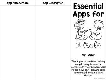 Editable Parent Brochure - Essential Apps
