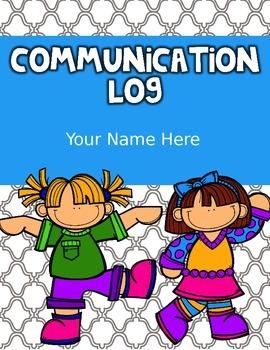 Parent Communication Binder
