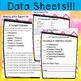 Editable Parent Contact Log & Data Sheets