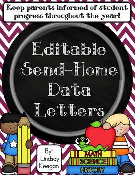 Editable Send-Home Data Letter