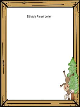 Editable Parent Letter