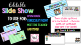 Editable Parent Night PowerPoint Presentation