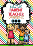 Editable Parent Teacher Conference Kit