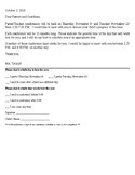 Editable Parent Teacher Conference Letter