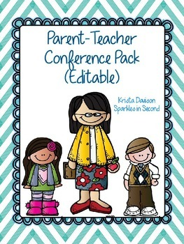 Editable Parent-Teacher Conference Pack