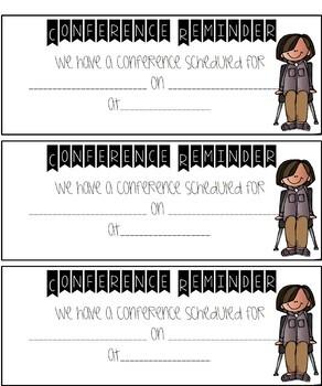 Editable Parent Teacher Conferences Sign Up Sheet & documents