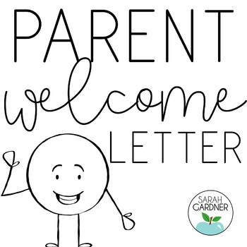Welcome letter to parents template teaching resources teachers pay editable back to school parent welcome letter thecheapjerseys Choice Image