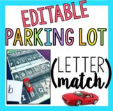 Editable Parking Lot (Letter Match)