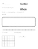 Editable Part-Part-Whole Problems & Graphic Organizer
