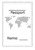 Editable Passport Template