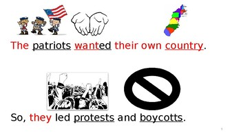 Editable Patriots Powerpoint or Mini Book