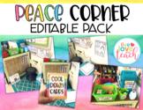 Editable Peace Corner Pack