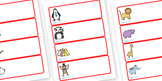 Editable Peg Drawer Labels (Animals)
