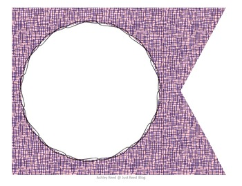 Editable Pennant Banners: Funky, Stylish Design