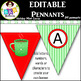 Editable Pennants ● Create Your Own Banner