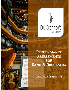 Editable Performance Assessments for Band & Orchestra