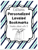 Editable Personalized Bookmarks