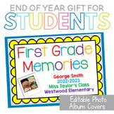 Editable Photo Album Covers