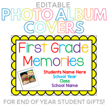 Editable Photo Album Covers