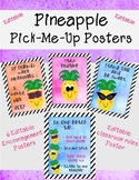Editable Pineapple Poster Set - (Classroom Rules and Posit