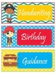Pirate Theme Schedule Cards - EDITABLE