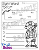 Editable Pirate Sight Word Set