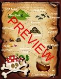 Editable Pirate Themed Scavenger Hunt