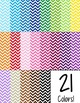 Editable Planbook Cover Page {Chevron A}