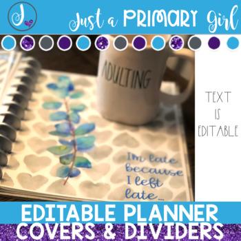 Editable Planner or Folder Covers - Farmhouse