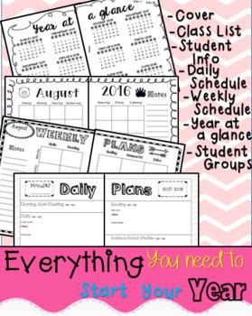 Editable Planning Binder